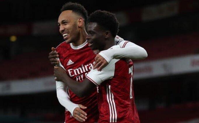 Arsenal ikinci yarıda 3'lük attı ve kazandı