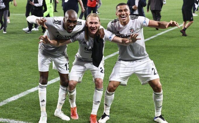 Beşiktaş'ta büyük sevinç: 'Harika bir duygu'