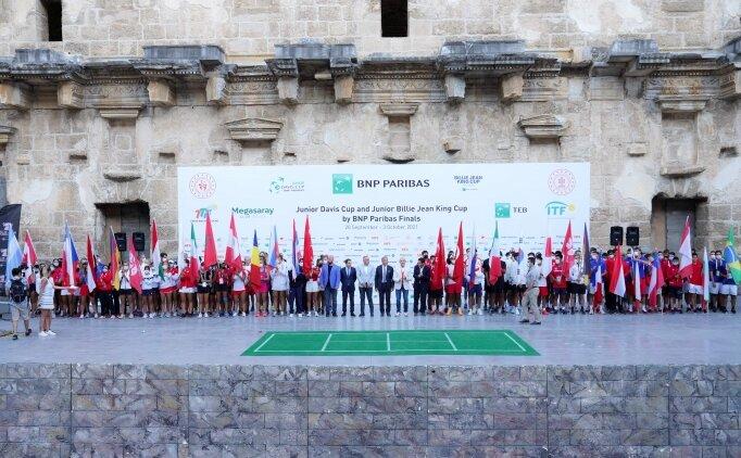 Teniste geleceğin yıldızlarının dünya kupası heyecanı Antalya'da başlıyor