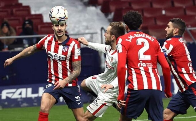 Atletico Madrid, Sevilla'yı rahat geçti