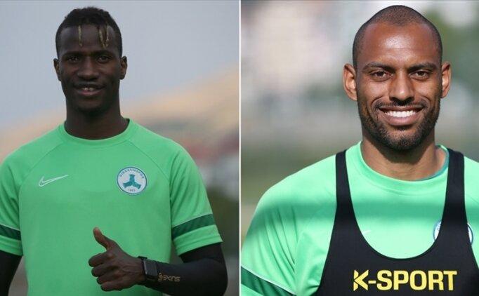 Giresunsporlu Balde ve Douglas, Süper Lig'de kalıcı olmak istiyor