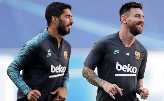 Suarez'den Messi'ye 'Kal' tavsiyesi