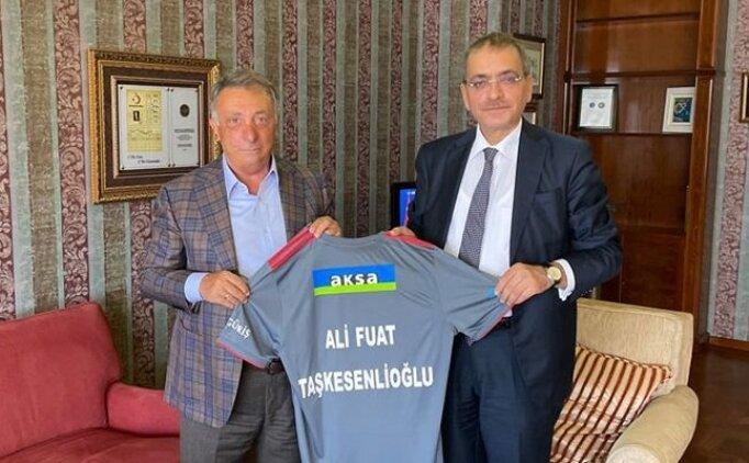 Ahmet Nur Çebi, SPK Başkanı Ali Fuat Taşkesenlioğlu'nu ziyaret etti