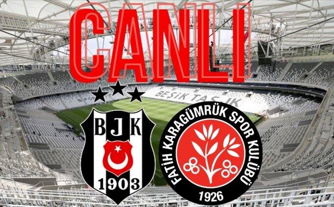 Beşiktaş Karagümrük maçı Canlı yayın izleme, BJK - Karagümrük link