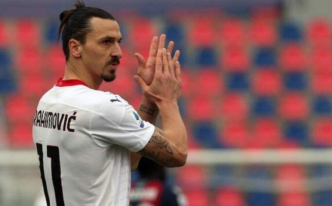 Milan Zlatan Ibrahimovic'in sözleşmesini yeniledi