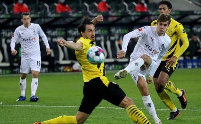 6 gollü maçta Gladbach Dortmund'u mağlup etti