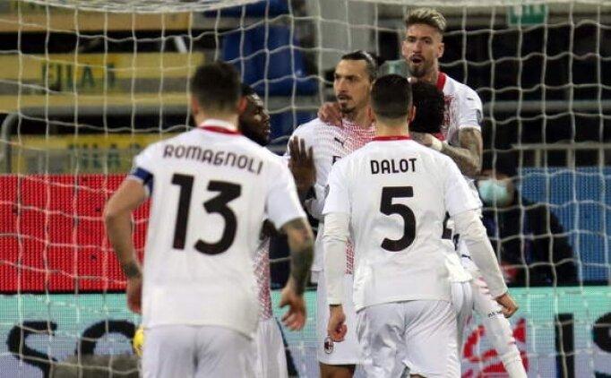 Ibrahimovic yine şov yaptı, Milan kazandı