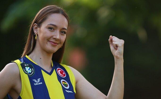 Fenerbahçe Opet'te Cansu Çetin'e yeni sözleşme
