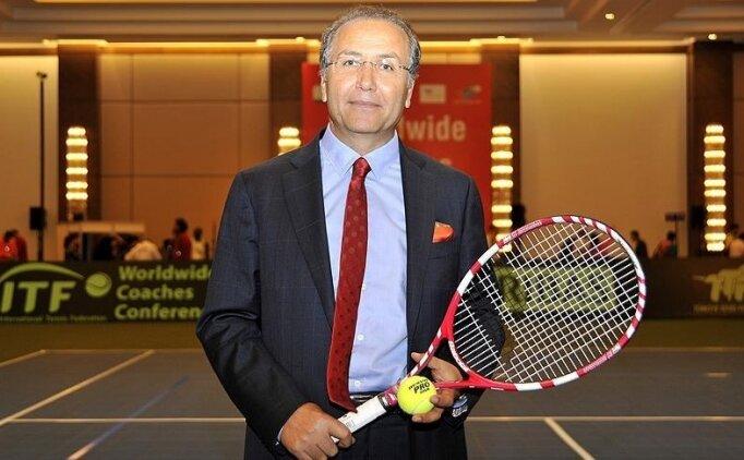 TTF Başkanı Durmuş, 'Geleceğin Tenis Sporunu Gençlerle Şekillendiriyoruz' toplantısında konuştu