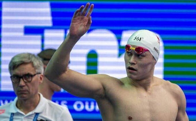 Şampiyon yüzücü Tokyo'da olmayacak