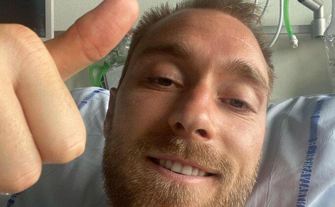 Christian Eriksen: 'İyiyim, kontrol altındayım'