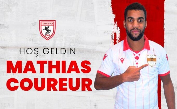 Yılport Samsunspor, Mathias Coureur'i transfer etti
