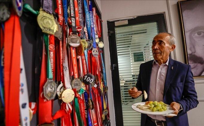 72 yaşındaki 'demir adam' şampiyonadan şampiyonaya koşuyor