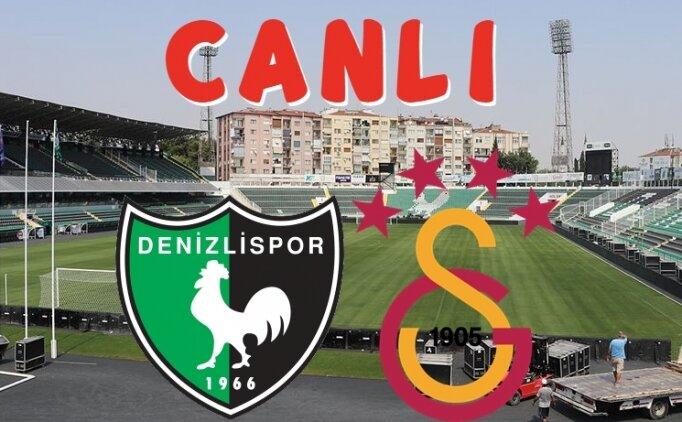 Denizlispor Galatasaray maçı canlı izle (beİN Sports izle)