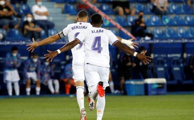 Real Madrid ve Benzema şov yaptı!
