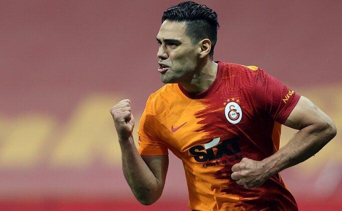 Galatasaray'da Falcao iş başında!
