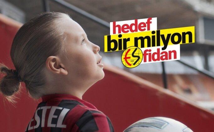 Eskişehirspor'un 'Bir Milyon Fidan kampanyası' 3 günde 10 bin fidanı geçti