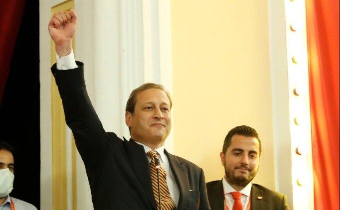 Galatasaray'ın son 50 yıldaki en genç başkanı Burak Elmas!