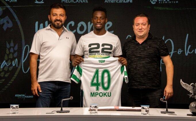 Konyaspor'u kanatlandıracak isim: Mpoku
