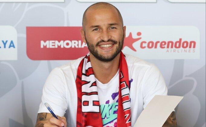 Antalyaspor, Kudriashov'u bırakmadı