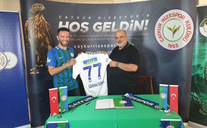 Çaykur Rizespor, Gökhan Gönül transferini açıkladı