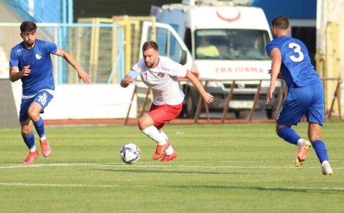 Antalyaspor, hazırlık maçında Erzurumspor'u devirdi