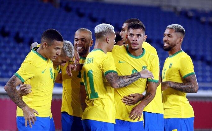 Erkek futbolunda ilk finalist Brezilya!