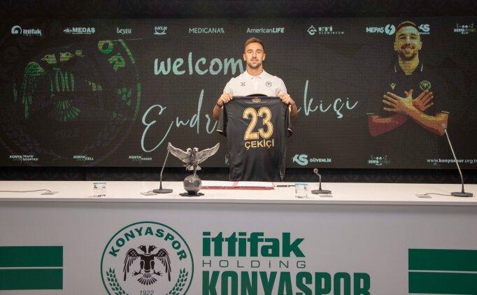 Ankaragücü'nden Konyaspor'a geçiş yaptı
