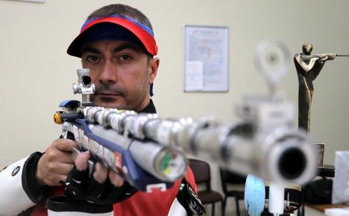 Ömer Akgün, olimpiyat 4.'sü oldu