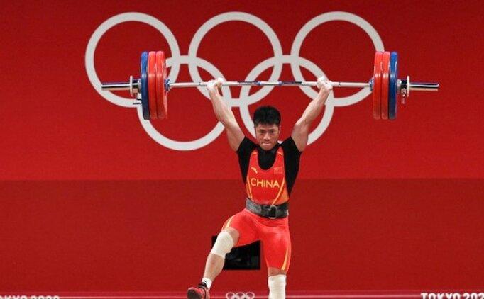 Çinli halterci Fabin Li'den olimpiyat rekoru