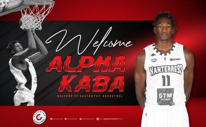 Gaziantep Basketbol'da transfer: Alpha Kaba