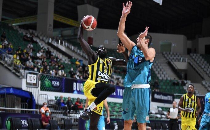 Fenerbahçe Beko'dan Türk Telekom'a 21 sayı fark