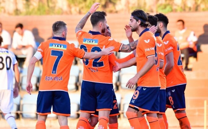 Başakşehir'den 3 gollü prova
