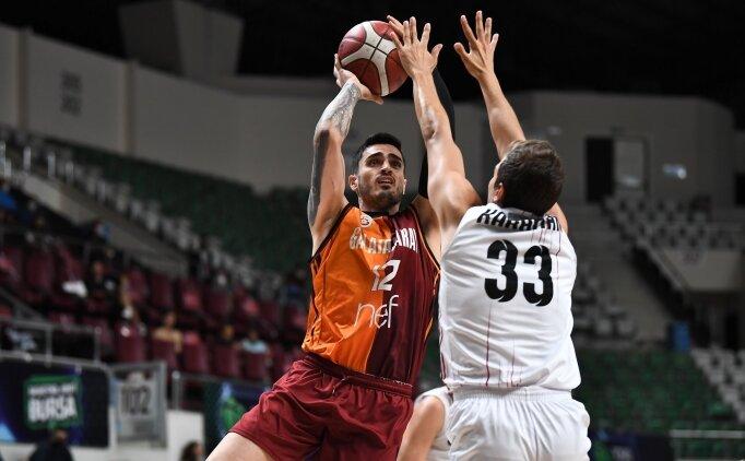 Galatasaray Nef, Gaziantep'i devirdi