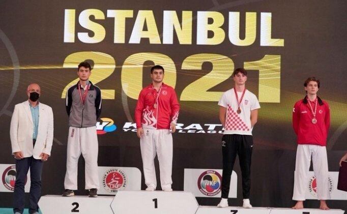 Milli karatecilerden ilk günde 14 madalya