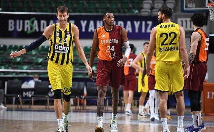 Derbide kazanan Galatasaray NEF!
