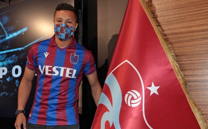 Marlon, Trabzonspor'a veda etti
