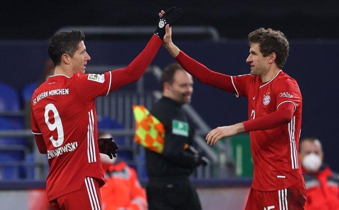 Bayern Münih, Schalke'ye nefes aldırmadı