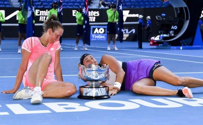 Mertens-Sabalenka ikilisi şampiyon oldu