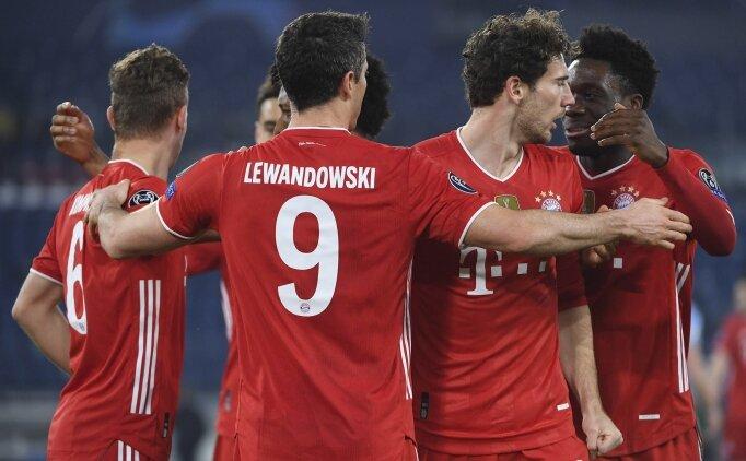 Bayern çeyrek final kapısını 4-1'le araladı