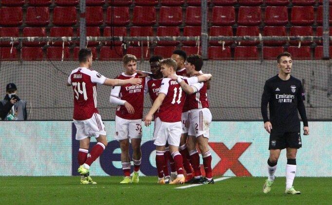 Arsenal, Auba ile son 16'ya kaldı