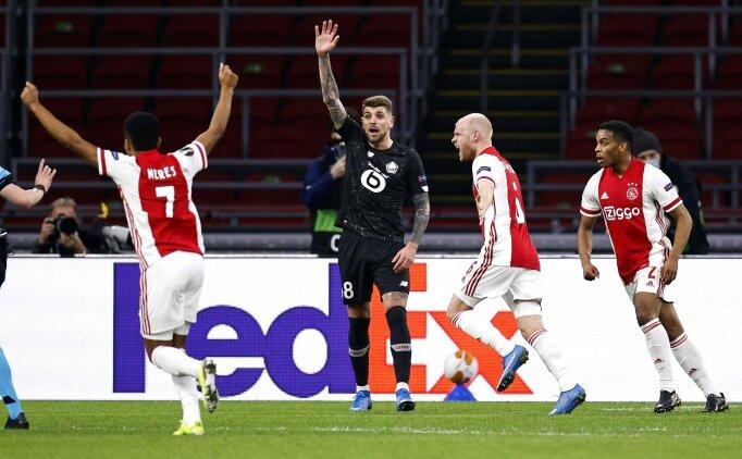Yusuf Yazıcı yetmedi, Lille Ajax'a elendi!
