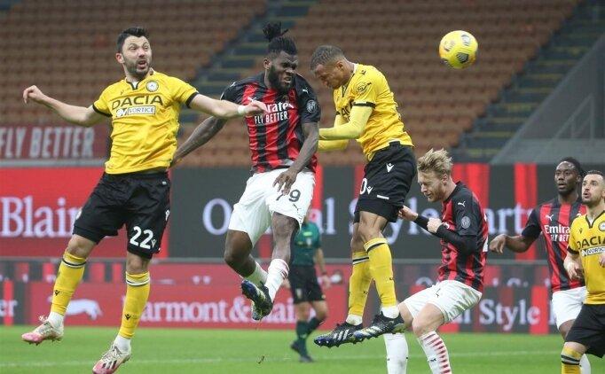 Milan son saniyede beraberliği kurtardı