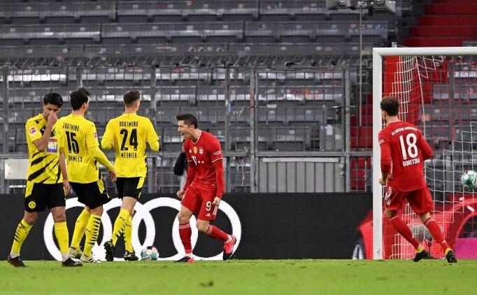 Lewandowski, Haaland'a ders verdi; 2-0'dan döndüler!