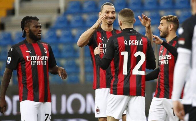 Zlatan kızardı, Milan kazandı!