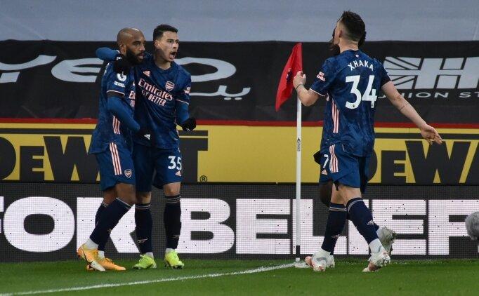 Lacazette devrede, Arsenal rahat kazandı