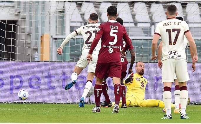 Torino, ligde kalmak için Roma'yı devirdi