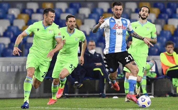 Napoli Lazio'dan 3 puanı 5 golle aldı