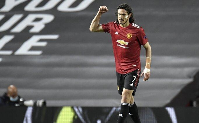 Manchester United, Cavani'yi bırakmak istemiyor!