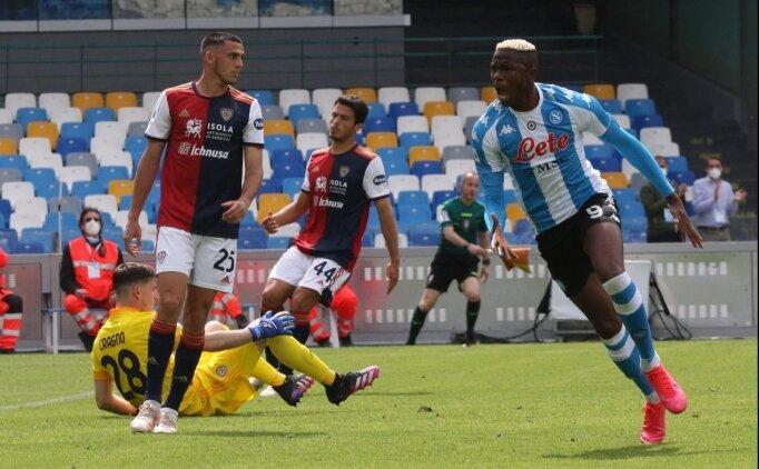 Cagliari Napoli'yi 90+4'te üzdü